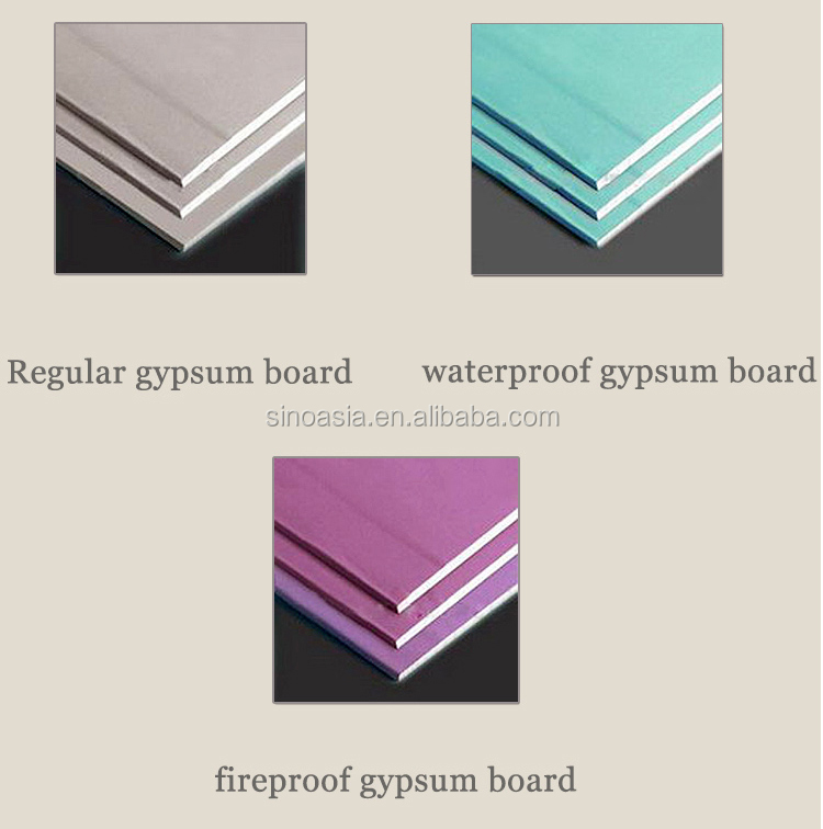 Regular Product Gypsum Board : Gypsum board plasterboard drywall buy