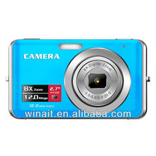 Cheap digital camera with 8x digital zoom Max.12Mp 2.7'' TFT color LCD Display