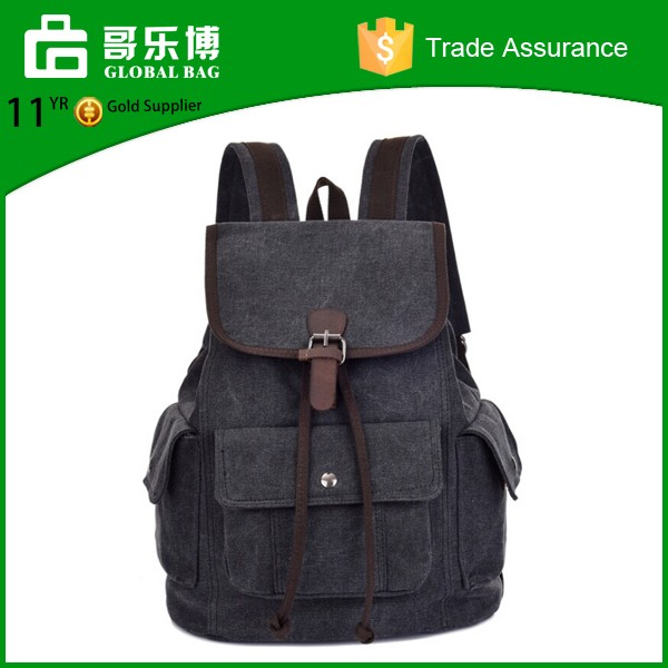 China Suppliers Top Quality Canvas Teenager School Bag