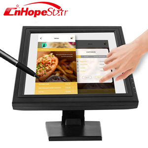 15 Inch ktv pos touch screen monitor with Raspberry PI