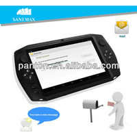 7.0 inch android dual core handheld game console / portable game player