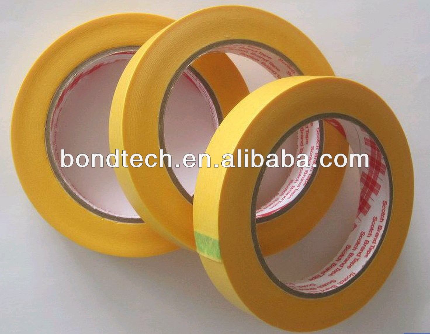 3M 244 High Temperatuer Automotive 3M Masking Tape For Painting 1200mmx50m