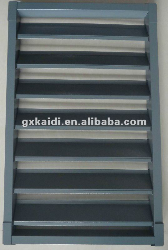 Galvanized Steel Building Shutters, House Louver