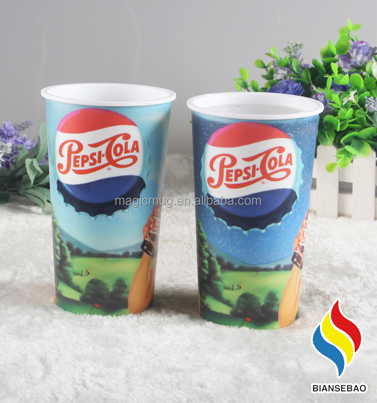 high quality Cold Color Changing Plastic Cups by Wal-Mart audit factory