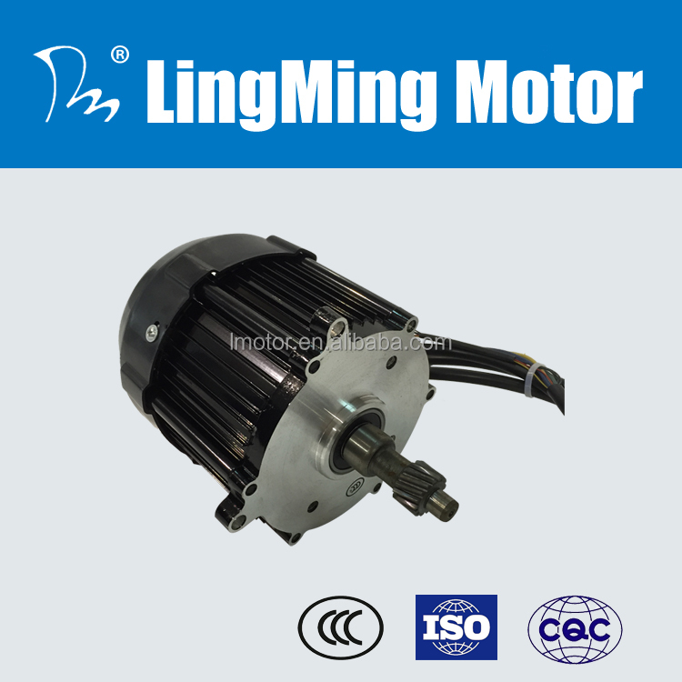60v 500w Indian tricycle richshaw differential gear motor