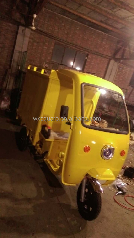 delivery electric tricycle three wheeler with cabin
