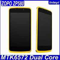 "Original 4.5"" Screen MTK6572 Dual Core 512MB 4GB Dual Sim 3G WCDMA Android Mobile Phone ZOPO ZP580"