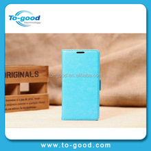 Alibaba China Hot PU leather Stand Design Cover Thin Card Holder Case, Phone Case Cover For LG L90 (D410)
