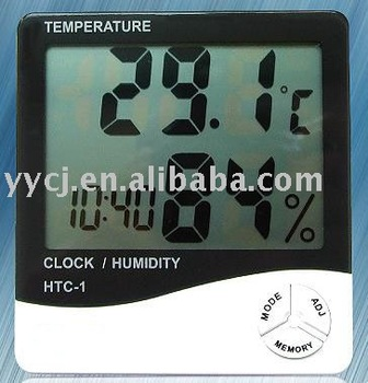 HTC-1 table style humidity and thermometer