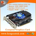 OEM NVIDIA GeForce GTX750 2GB GDDR5 DVI/HDMII/VGA Port PCI-Express 3.0 x16 Graphics Video Card