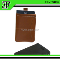 Wholesale new style factory supply genuine leather passport holder/passport cover