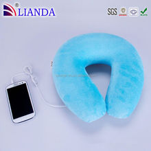 Hot sale cell phone speaker,bluetooth stereo headset,memory foam neck pillow Custom Pillow