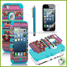for iphone 5 hybird 2-1 set case,mobile cover for iphone