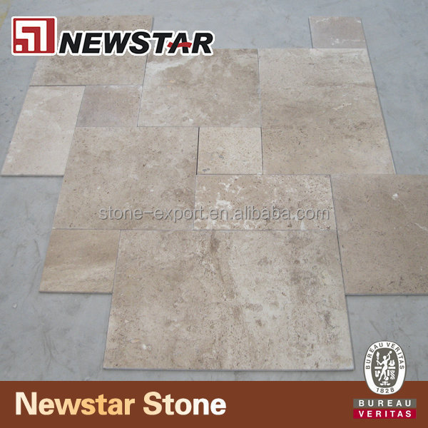 Limestone french pattern