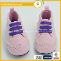 Latest shoes design 2016 hot sale new fashion hand high quality suede baby leather shoes