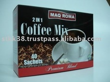 MAQ ROMA Instant 2in1 Coffee and Sugar