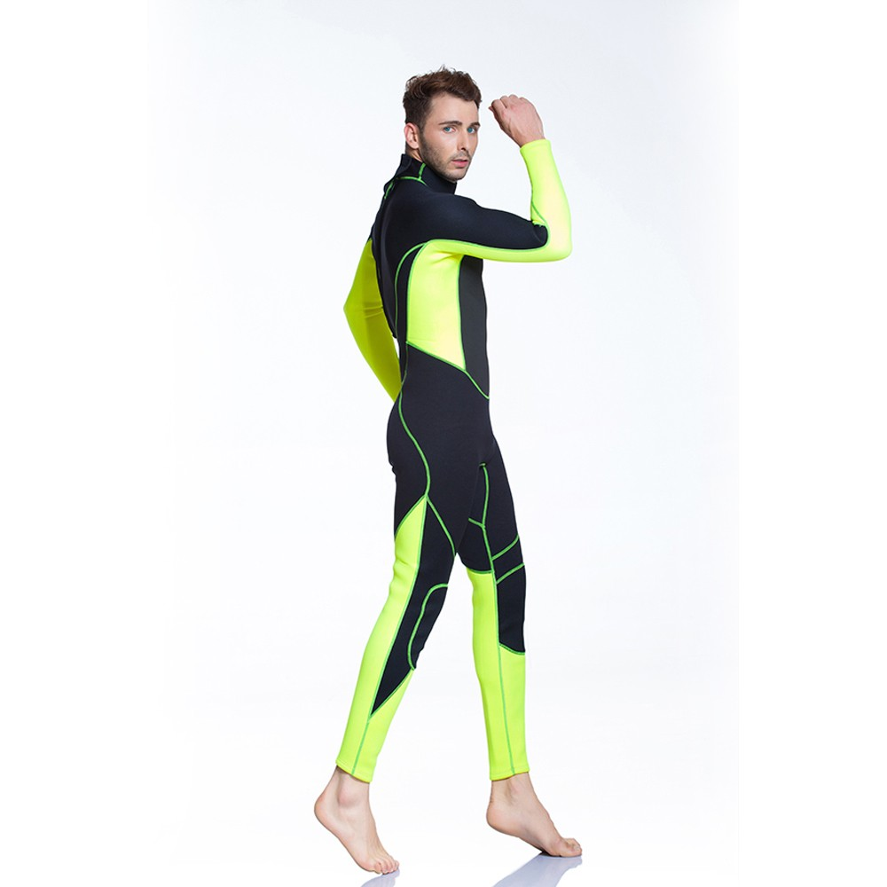 Scuba diving equipment Swim set men swimwear fabric wetsuit neoprene fabric
