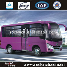 Euro 3 dongfeng 6m minibus design with front engine
