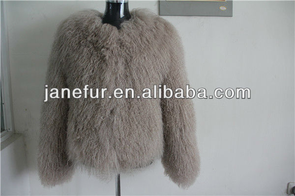 Lovely real mongolian fur coat