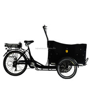 Motored three wheel cargo bicycle adult tricycle motor kit