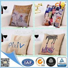 IAF Approved Attractive genuine leather pillow inflatable beach wedge pillow