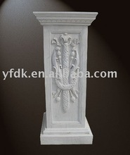 square marble decoration column post