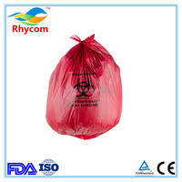 disposable plastic medical waste bag