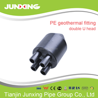 u bend pipe fitting for geothermal pipe