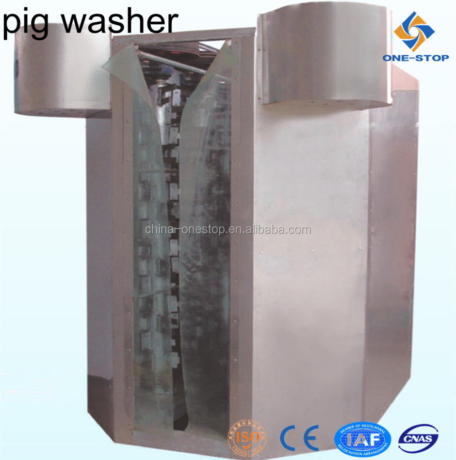 Automatic Swine Hog Pig Washing Machine, Pig Cleaning Machine for Pig Slaughter Equipment