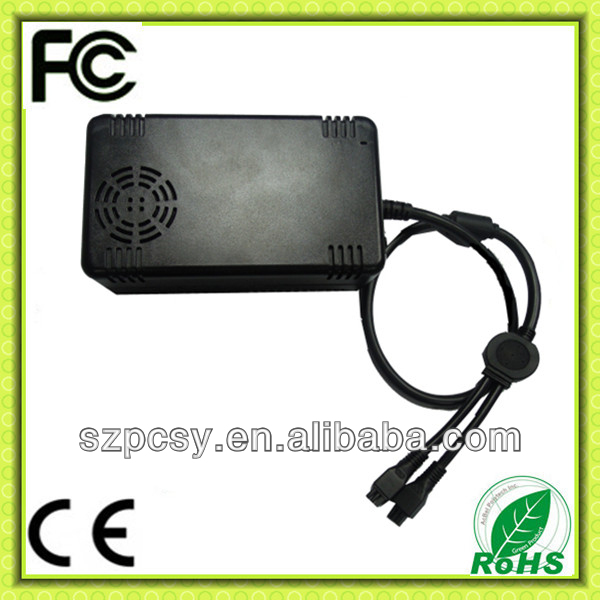36v 10ah electric bike li ion battery charger 360w CE RoHS FCC approved