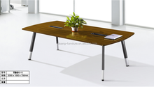 MDF Material Aluminum Legs Conference Negotiation Table TB51-1