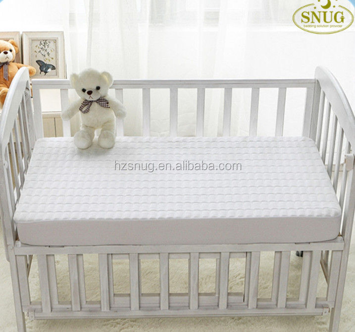 Baby Crib Velvet Quilted Waterproof Mattress Protector SGV-1 - Jozy Mattress | Jozy.net
