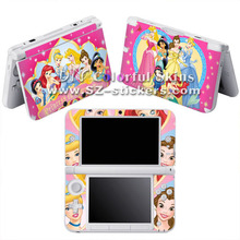 Vinyl Skin Sticker for Nintendo 3ds xl for dsi xl for 3ds with Beautiful Disney Girl Designs