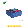 Sets of 5 pp strap woven storage basket for sundries