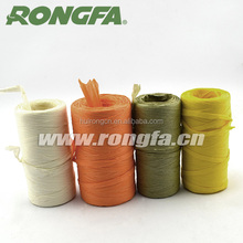Colorful Paper Raffia For DIY Handcraft In Roll
