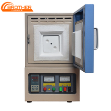 1100 1600 1800 Degree Mini Small Box Chamber Sintering Annealing Lab Heat Treatment Electric Muffle Furnace