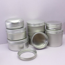 aluminum tin jar with see through window for gift packing AJ-375RI