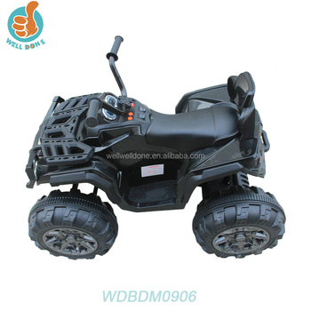 WDBDM0906 Newest 12v Ride On Children Car, Quad Atv Fashion Present For Kids, With Two Speeds And Remote Control