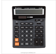 Dual power Power Source and 12 Digits Office Desk Top Calculator