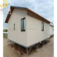 Prefab steel sea beach high feet floating house building low cost