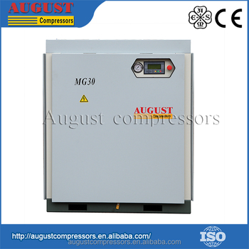 New Design Fashion Low Price MG30 30KW/40HP double cylinder silent air compressor