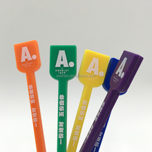 Hot Promotion Custom Design Disposable Custom Plastic Swizzle Sticks
