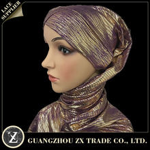 Print customized stylish sexy shimmer glitter viscose scarf women muslim hijab
