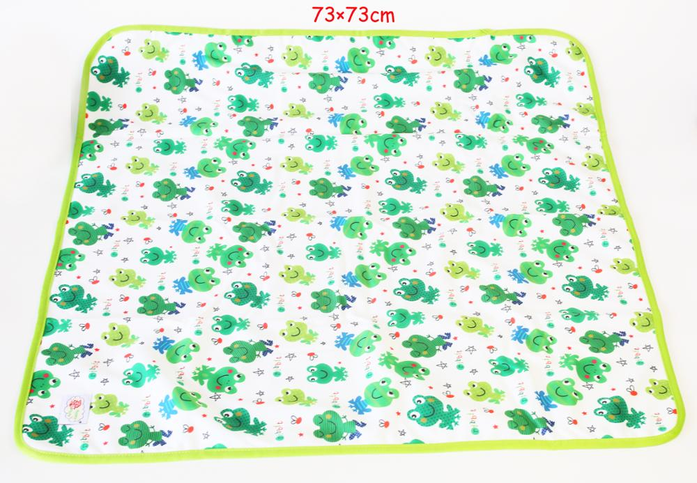baby waterproof baby changing mats urinal pads factory custom print wholesale
