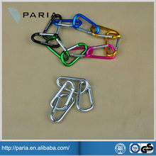 high quality aluminum clips hook carabiner lighter