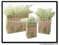 2012 european stand luxury High Quality paper bag with best price