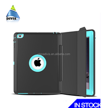 High-end 3 proofings case for iPad cover case, multifunction auto sleep wake for iPad mini leather case