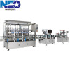 Fully Automated Filling-Capping-Labeling Production Line for beverage, pharmaceutical liquids, body-care, and chemical products