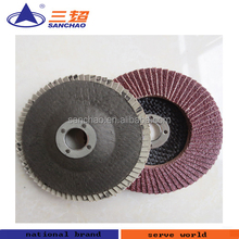 Metal Fillet Polishing Flap Wheel / Disc