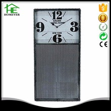 customize rectangle wall clock with message board